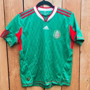 Adidas Youth Mexico Soccer Jersey EUC